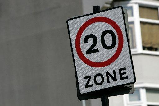20mph zones come into force in Brighton and Hove from April 2013