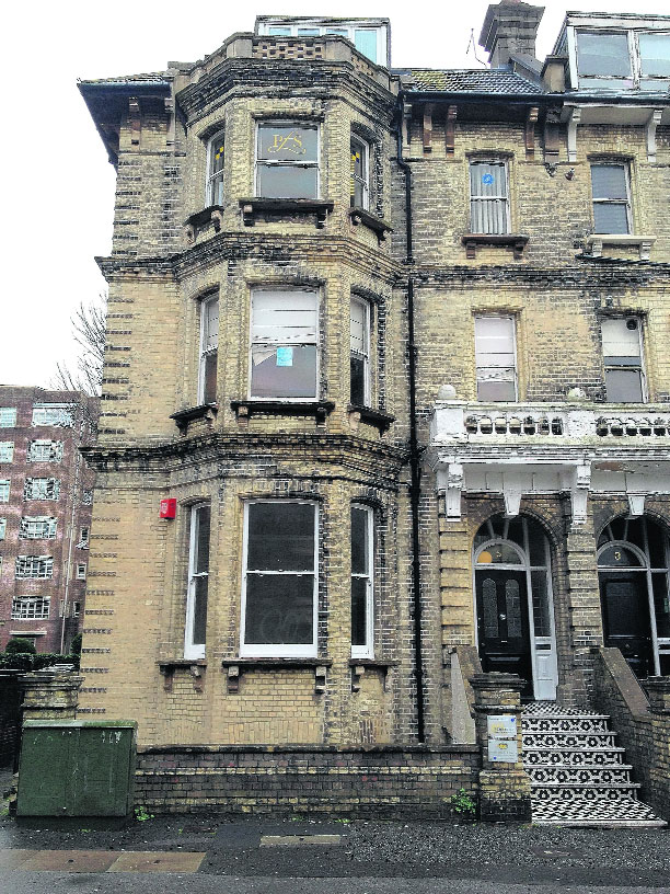 Squatters at former Hove school taunt campaigning MP