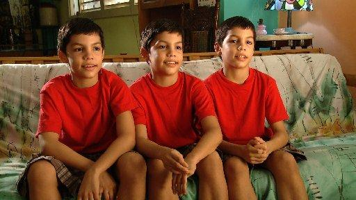 The triplets from To Dance Like A Man: Triplets In Havana