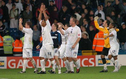 Albion enjoy their win in 2005