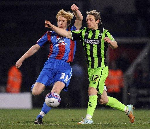 Craig Mackail-Smith at Palace last season