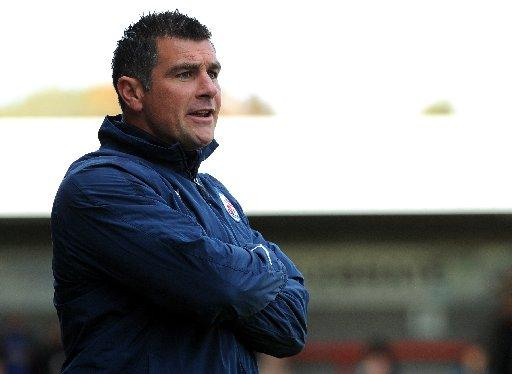 Richie Barker has mixed feelings about Crawley's FA Cup third round draw