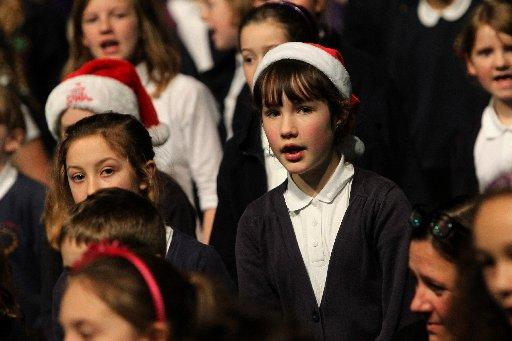 More than 1,000 children from Brighton and Hove primary schools performed at the Brighton Centre