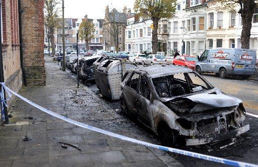 The Argus: Connaught Road after the fire