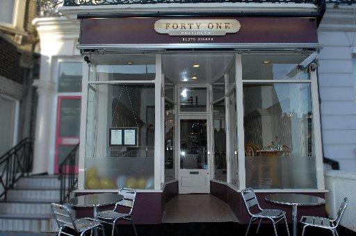 Restaurant Forty One, photo by Terry Applin