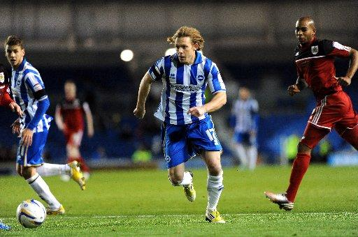 Craig Mackail-Smith ignores talk about his Albion future