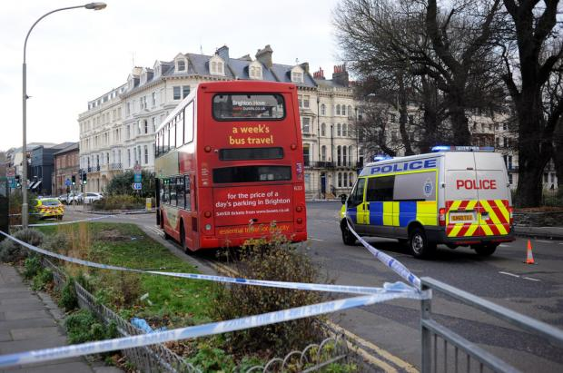 Man stabbed on Brighton bus