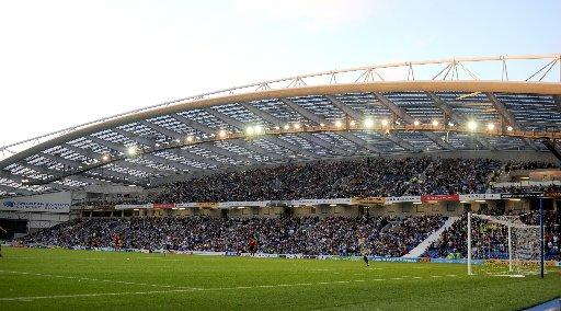 Albion's crowds at The Amex are averaging 25,446
