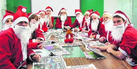 Dress up as Santa for St Barnabas House Hospice