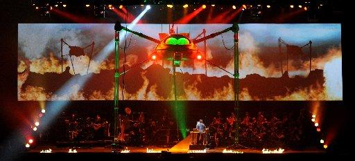 Jeff Wayne's Musical Version Of The War Of The Worlds: The New Generation, photo by Roy Smiljanic