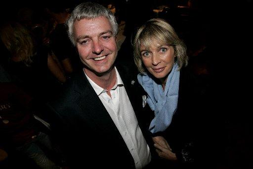 Simon Kirby MP with his wife Elizabeth