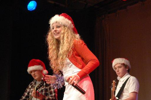 Young performers at the Patcham High School Christmas concert