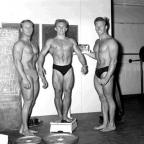 Were you one of these bodybuilders flexing their pecs in Sussex in 1959?
