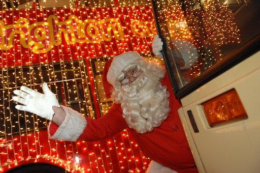 The Argus Appeal's Santa, Mike Childs. Photo by Terry Applin
