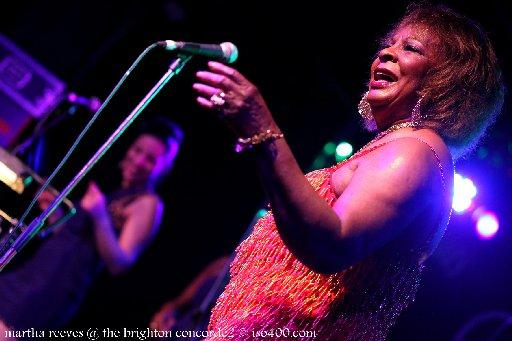 Martha Reeves, photo by Mike Burnell