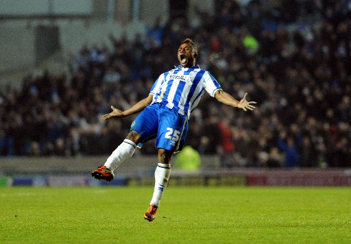 Kazenga LuaLua celebrates on Tuesday night