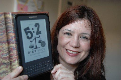 Kate Harrison of Brighton has self published her 5:2 Diet Book on Kindle