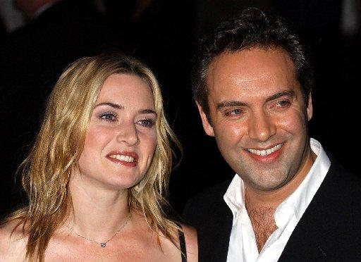 Kate Winslet with former husband Sam Mendes