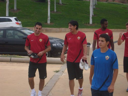Leonardo Ulloa, centre, is wanted by Granada as well as Albion