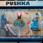 A living window display at Puska