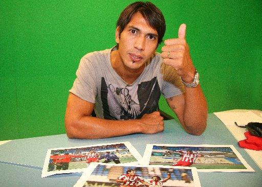 Leonardo Ulloa. Will it be thumbs up or down for Albion?
