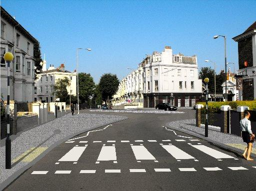 An artist's impression of how the Seven Dials could look