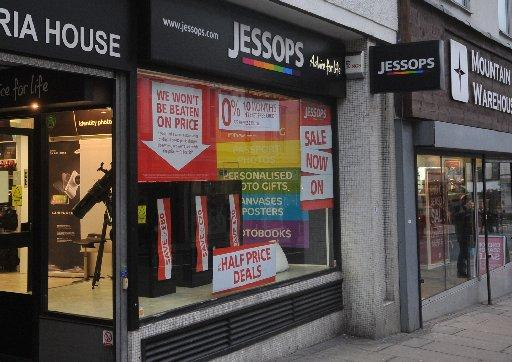 Jessops in Queens Road, Brighton, is one of the stores under threat