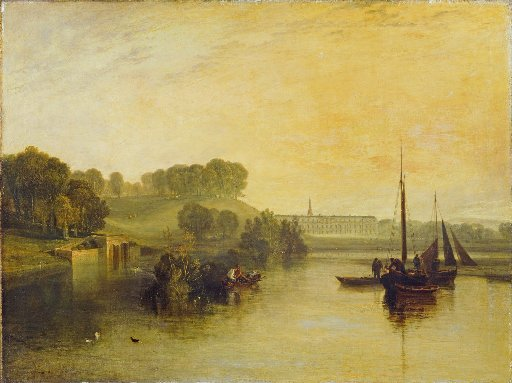 Petworth, Sussex, The Seat Of The Earl Of Egremont, Dewy Morning, 1810 by JMW Turner. Image courtesy of Tate London 2012