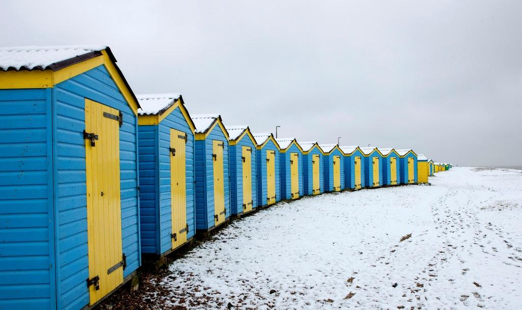 Snow in Littlehampton yesterday (Graham Franks Photography)