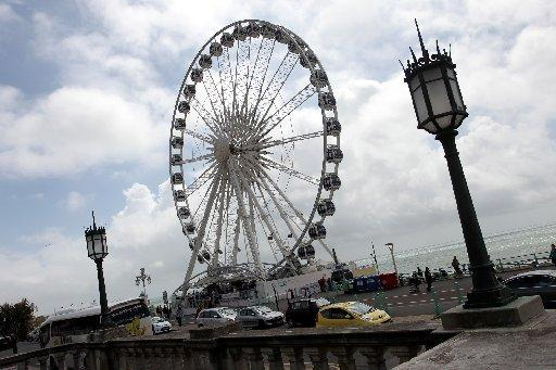 The Brighton Wheel, introduced to attract tourists in 2012