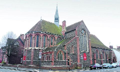 St Barnabas Church in Hove