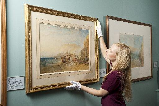 Collection of Turner's turn heads at Sussex country house
