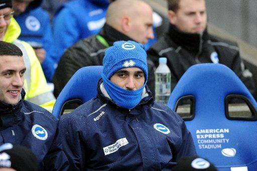 Vicente was left out in the cold after Orlandi failed to make it 3-0 against Derby