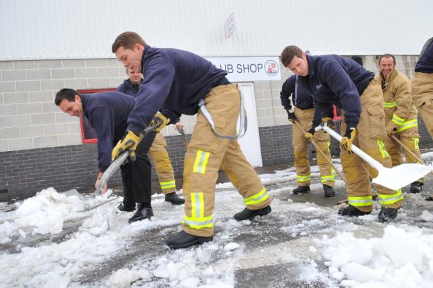Socks and chains to keep Sussex fire service running