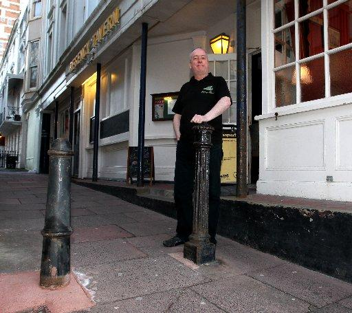 The Argus: Grade II listed bollard replaced with a stump