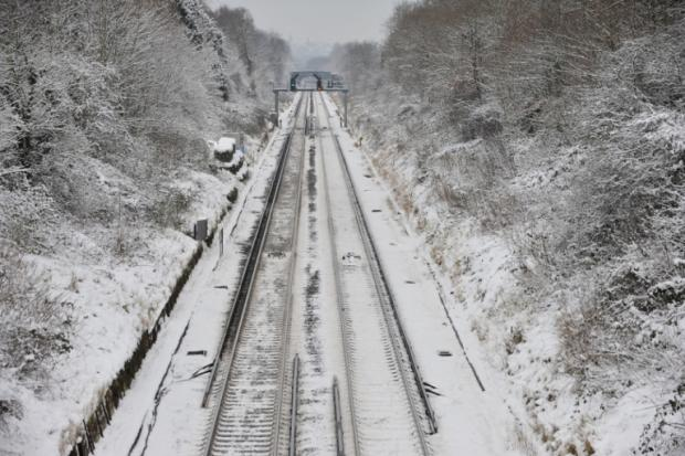 Sussex rail services disrupted by big freeze