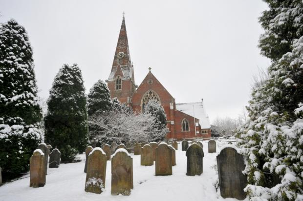 Up to 5cm of snow expected today in Sussex