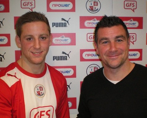 Connor Essam has signed a two and a half year deal at Crawley