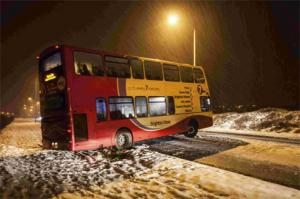 The Argus: Bus on King George VI Avenue by Mark Newman