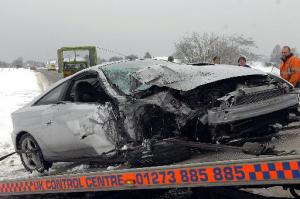 The Argus: Ditchling Road crash