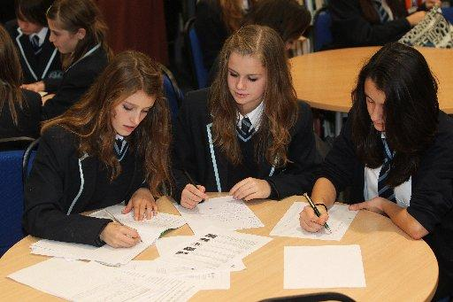 Students hard at work at Hove Park School, the big success story when it comes to GCSE results in Brighton and Hove