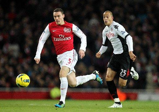 Thomas Vermaelen will be out injured tomorrow