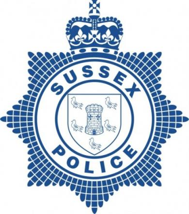 Crime has fallen in the last five years, according to Sussex Police