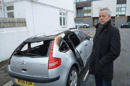 Hove cars torched in midnight attack