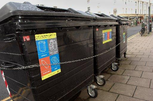 Communal recycling bins proposed for Brighton and Hove