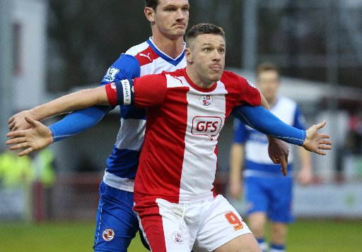Gary Alexander's Crawley future will be reassessed at
