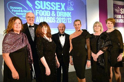 At the Sussex Food and Drink Awards