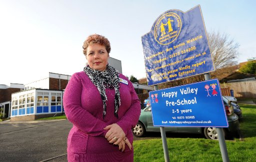 Davina Wakelin, headtacher at Meeching Valley Primary school in Newhaven