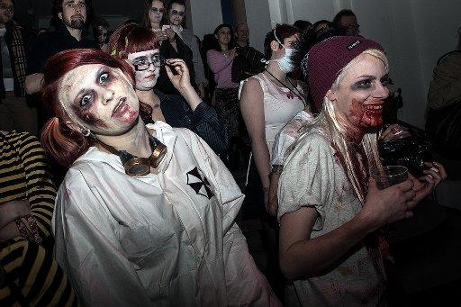 Zombies in the Science Museum as part of  University of Sussex research