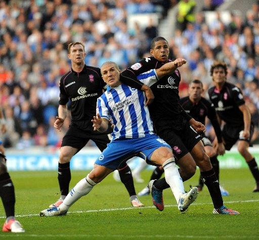 Albion were discouraged from a move for Curtis Davies by Birmingham's £4million asking price